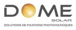 Logo Dome Solar Gris +