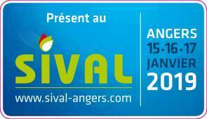 Salon SIVAL à Angers les 15, 16 et 17 Janvier 2019