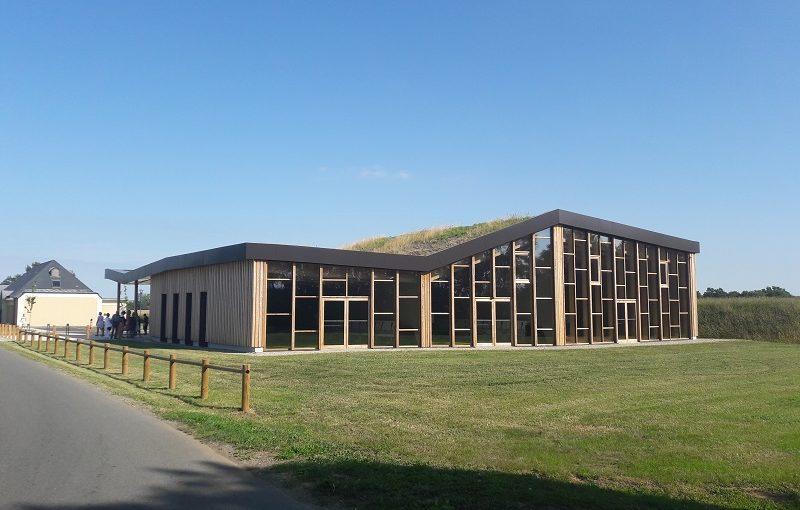 Un bâtiment BEPOS avec 135m² de panneaux solaires