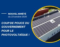 Le gouvernement confirme son soutien au développement du photovoltaïque