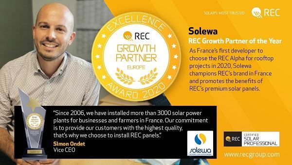 Trophée REC Solar