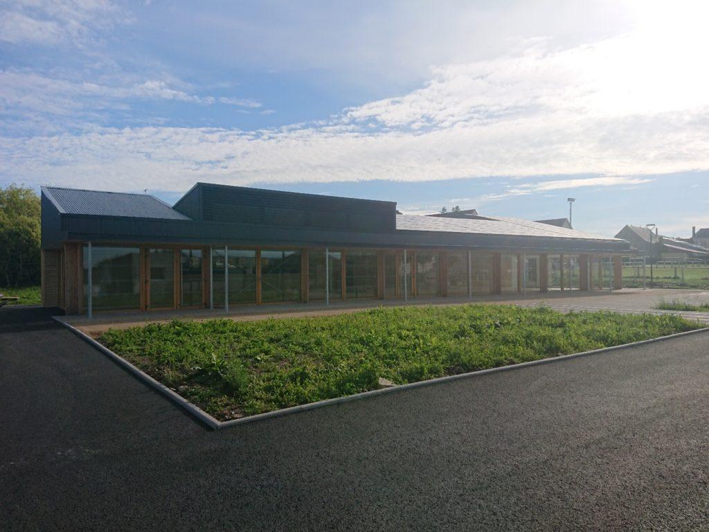 Centrale solaire du restaurant scolaire de St Aignan (53)